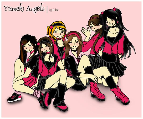 Yumeki Angels FanArt por Belen