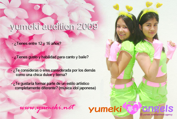 Yumeki Audition 2009