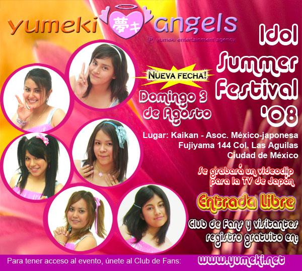 Yumeki Angels Idol Summer Festival 08