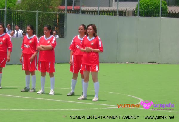 Ingrid - Yumeki Angels- Partido de Futbol