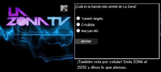 La Zona MTV Yumeki Angels Votacion
