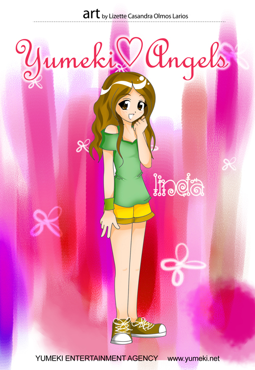 Linda Yumeki Angels Art by Lizette Casandra Olmos