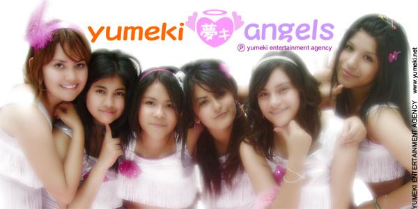 Yumeki Angels glow poster