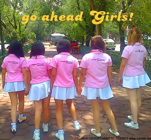 Poster Yumeki Angels 2009 Go ahead Girls