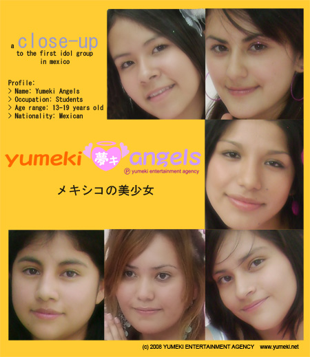 Yumeki Angels close-up poster