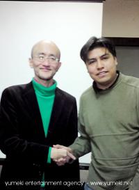 Takamasa Sakurai and Carlos Peralta