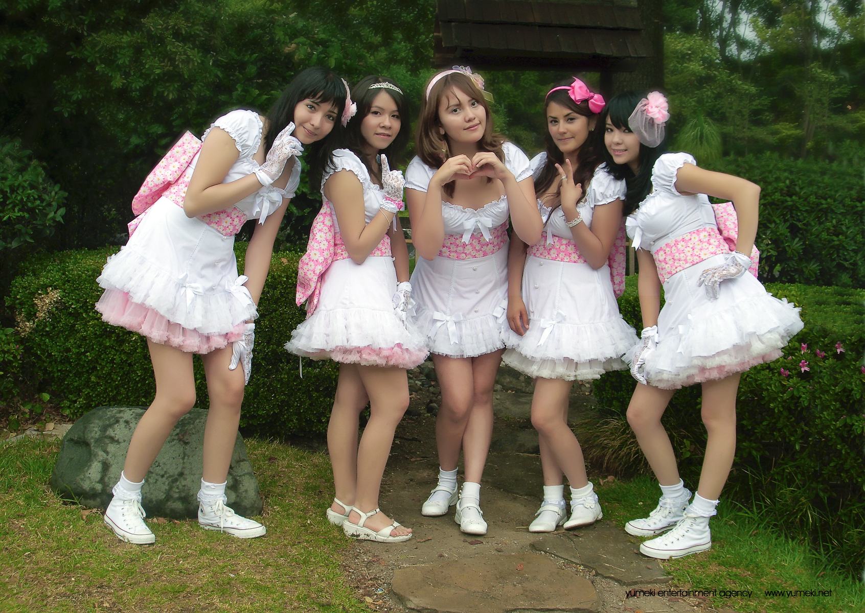 Yumeki Angels grupo idol