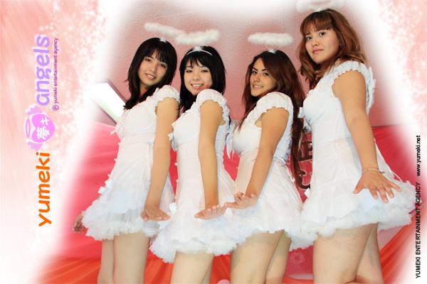 Yumeki Angels poster agosto 2010