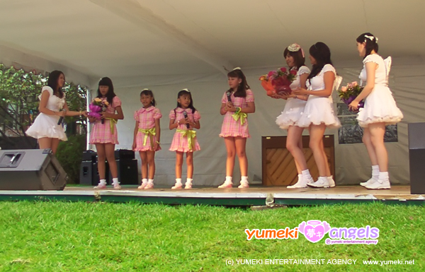Yumeki Angels presentan a Yumeki Cherubs en Akimatsuri 2009