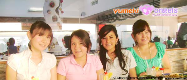 Yumeki Angels comida de fin de año