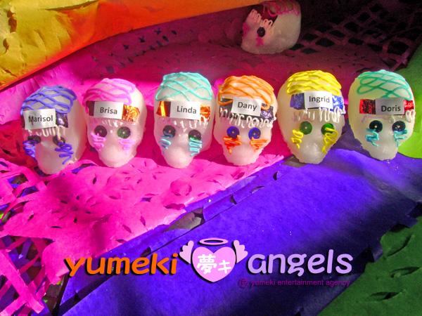 Yumeki Angels Tradicion mexicana de Dia de Muertos