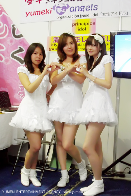 Yumeki Angels en Expo La mole