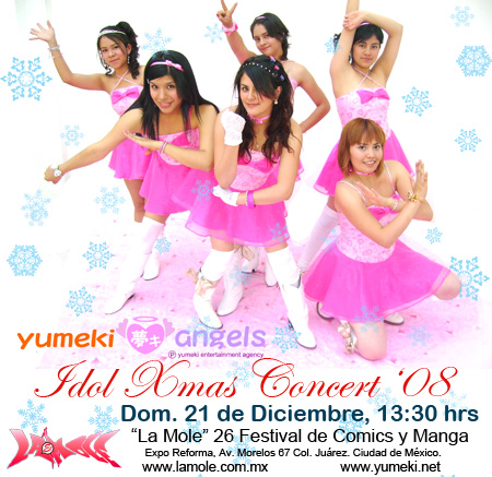Yumeki Angels Festival de navidad 2008