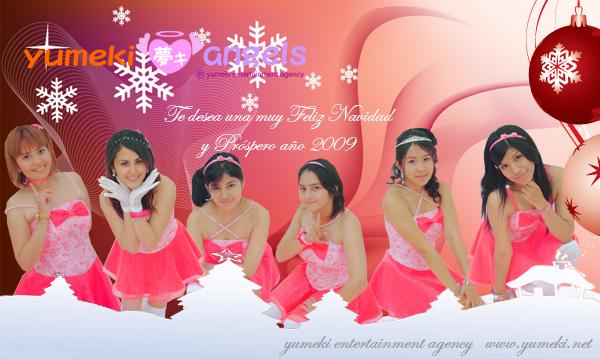 Yumeki Angels Navidad 2008