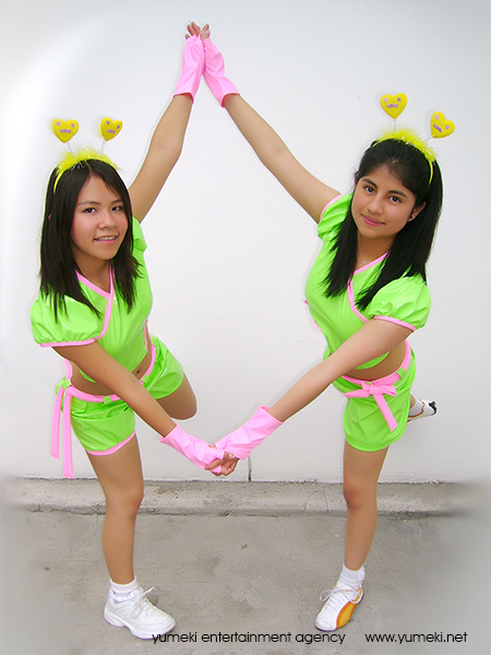 Yumeki Angels pinku pawaa unit 2008