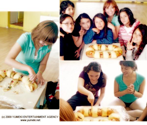 Yumeki Angels y Yumeki Artists celebran el Dia de Reyes